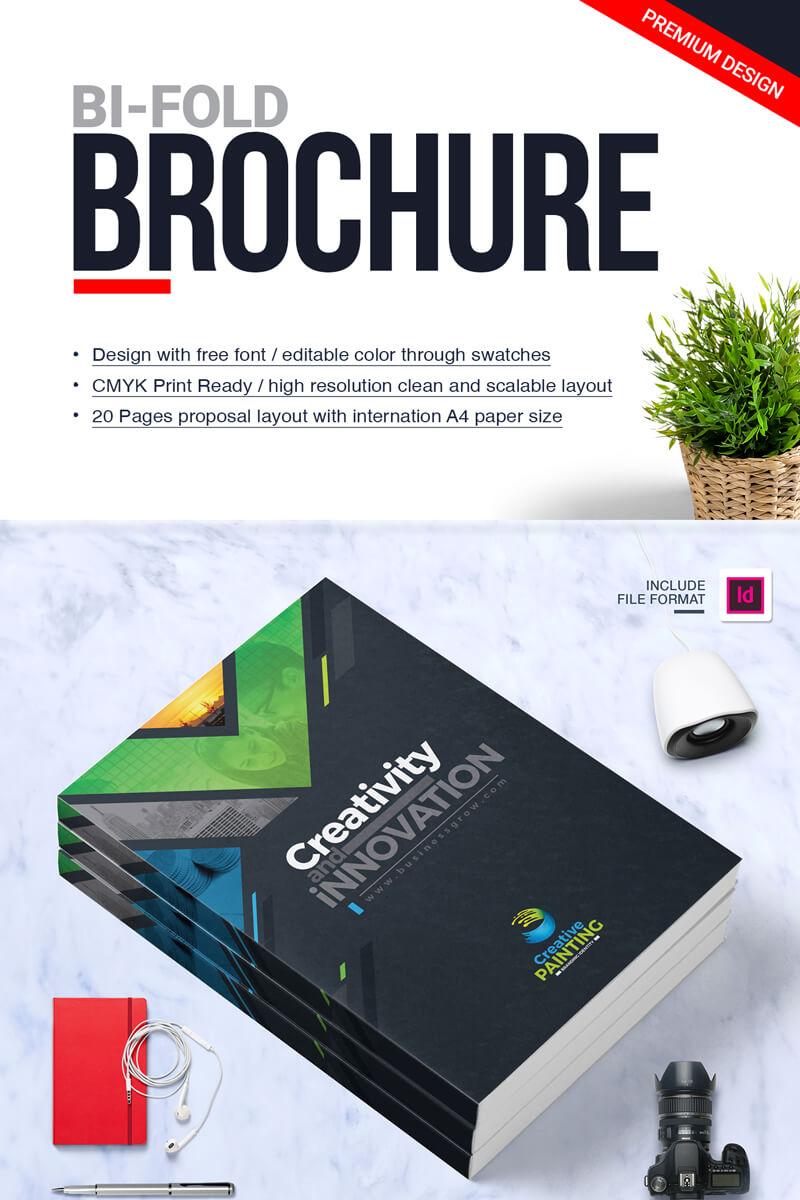 Bi-Fold Brochure design in Lahore