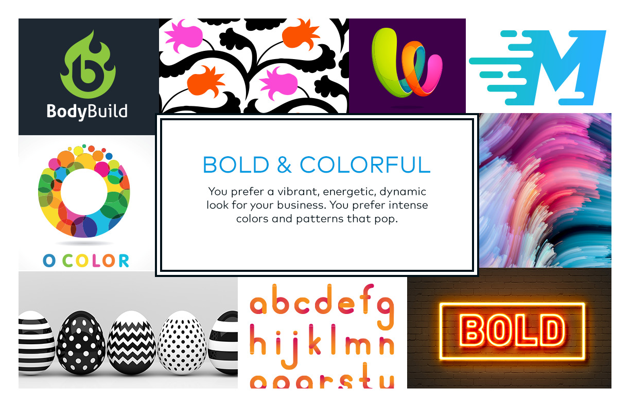 Bold and Colorful